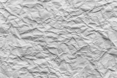 Wrinkled paper texture background. Wrinkled white paper texture background stock image