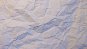 Wrinkled paper texture or background royalty free stock photo
