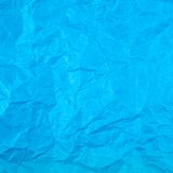 Wrinkled paper texture Stock Photography