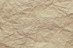 Wrinkled Paper Texture for pattern and background Stock Photos