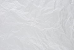Wrinkled paper texture. Stock Image