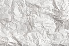 Wrinkled paper texture stock photos