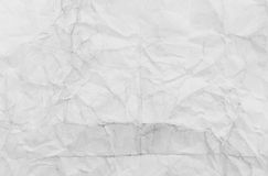 Wrinkled paper Stock Images