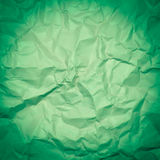 Wrinkled paper, used as background Royalty Free Stock Photos