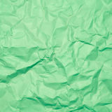Wrinkled paper, used as background Stock Photos