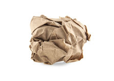 Wrinkled paper Royalty Free Stock Photo