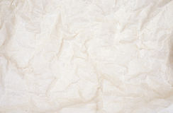 Wrinkled parchment paper Royalty Free Stock Image