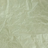 Wrinkled recycle paper texture. Royalty Free Stock Photos