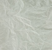 Wrinkled recycle paper texture. Stock Photo