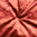 Wrinkled red velvet cloth Royalty Free Stock Images