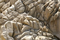 Wrinkled rocks Royalty Free Stock Images