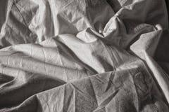Wrinkled sheet Stock Images