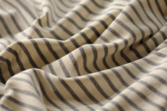 Wrinkled shirt. An abstract view of a wrinkled shirt royalty free stock photography