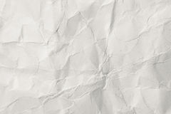 Wrinkled thick paper Royalty Free Stock Photo