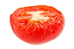 Wrinkled tomato Stock Photography