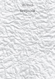 Wrinkled vector. Wrinkled paper. vector abstract background Royalty Free Stock Photo