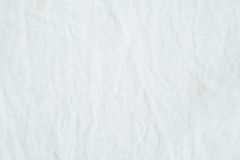 Wrinkled white cotton canvas fabric textured background, wallpap. Er Royalty Free Stock Photos