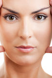 Wrinkles treatment Stock Images