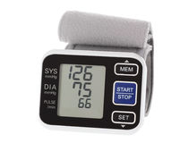 Wrist Blood Pressure Monitor Royalty Free Stock Photo