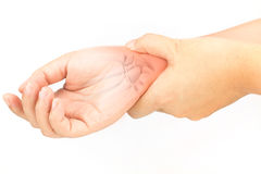 Wrist bones injury Royalty Free Stock Photography