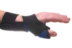 Wrist Brace Stock Photo