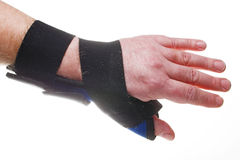 Wrist Brace Royalty Free Stock Photo