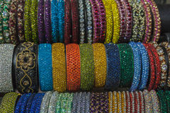 Wrist Bracelets Indian Colors Stock Photo