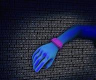 Wrist computer Stock Image