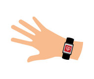 Wrist device icon , vector Stock Photo