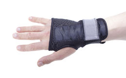 Wrist guard. Stock Image
