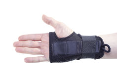 Wrist guard. Royalty Free Stock Image