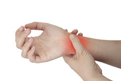 Wrist Injury stock photography