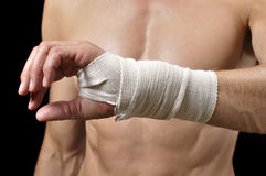 Wrist injury Royalty Free Stock Photos