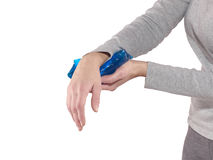 Wrist Injury Royalty Free Stock Images