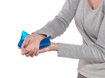Wrist Injury Royalty Free Stock Image