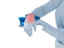 Wrist Injury Royalty Free Stock Photo