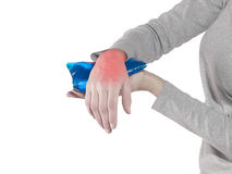 Wrist Injury Stock Photography