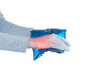 Wrist Injury Stock Image
