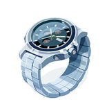 Wrist mechanical watch. Personal business accessory Stock Photo
