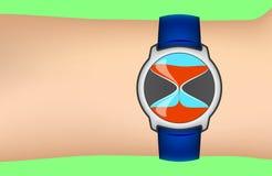Wrist Sandglass Concept Stock Photos