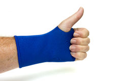 Wrist Support Royalty Free Stock Image