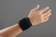 Wrist support Stock Photography