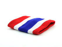 Wrist Thailand flag Royalty Free Stock Image