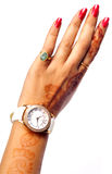 Wrist watch Royalty Free Stock Photo