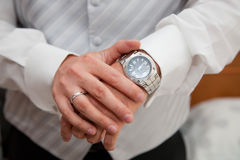 Wrist-watch royalty free stock images