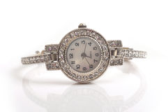 Wrist watch. Image of fashionable ladies wrist watch Royalty Free Stock Photography