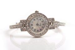 Wrist watch. Image of fashionable ladies wrist watch royalty free stock photography