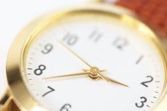 Wrist watch close-up Stock Photography