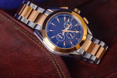 Luxury Man wrist watch for business people Stock Photography