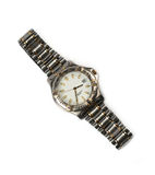 Wrist watch isolated Stock Photography